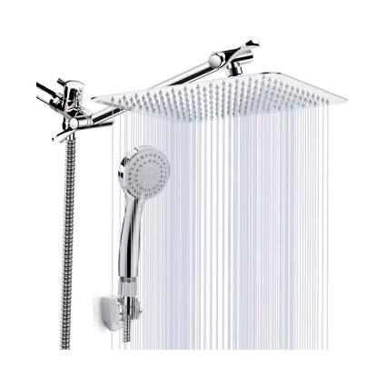 Kaqinu 8-Inch High Pressure Rainfall & Handheld Showerhead Combo