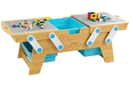 KidKraft Building Bricks Play N Store Table