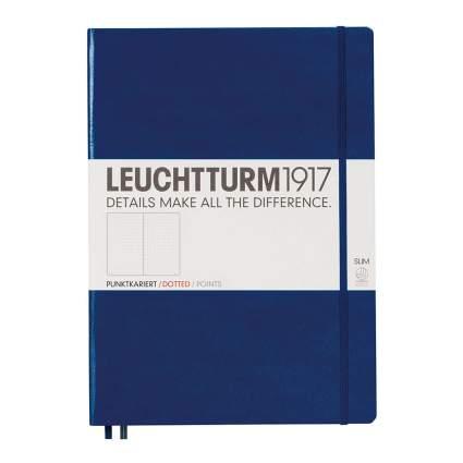 Dark blue Leuchtturm1917 notebook