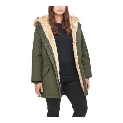 Levi sherpa coat