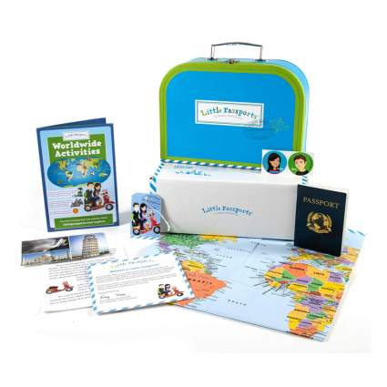 travel adventure subscription box for kids