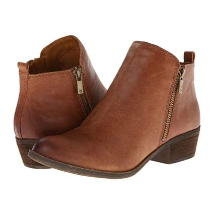 Lucky Brand Block Heel Booties