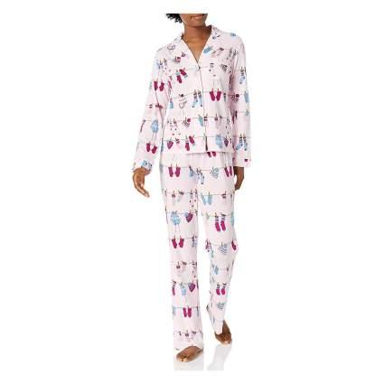 Mae flannel pajamas
