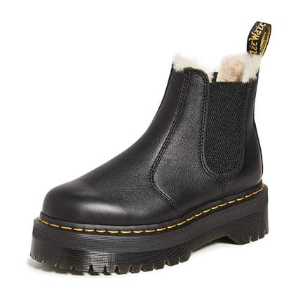 Dr Martens chunky boots