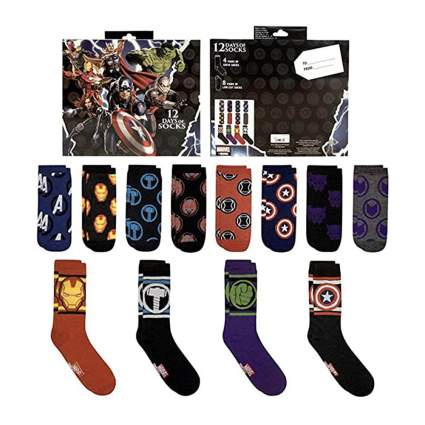 Marvel socks advent calendar