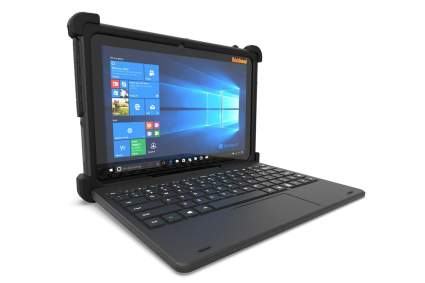 MobileDemand Flex 10B Rugged Touchscreen Tablet with Keyboard