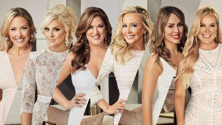The season 15 cast of the Real Housewives of Orange County.