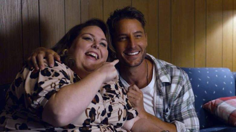 """""""Forty Part 1/Forty Part 2"""" Episode 501/502 -- Pictured: (l-r) Chrissy Metz as Kate, Justin Hartley as Kevin"""