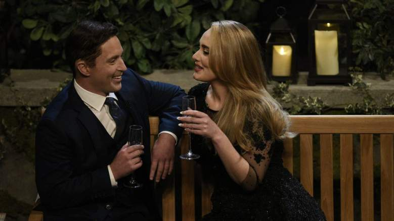 Adele and Beck Bennett on Saturday Night Live