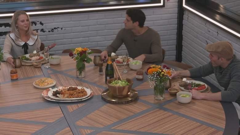 The Big Brother 22 final three: Nicole Franzel, Cody Calafiore, and Enzo Palumbo.