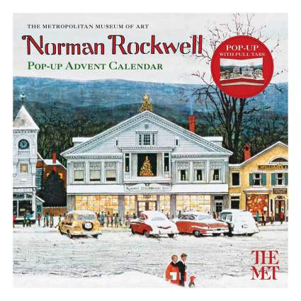 Norman Rockwell Advent Calendar