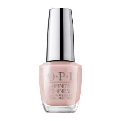 light pink OPI nail polish