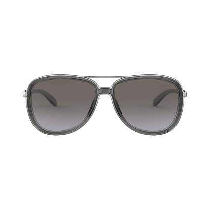 Oakley Women's Split Time Metal Pilot Sunglasses