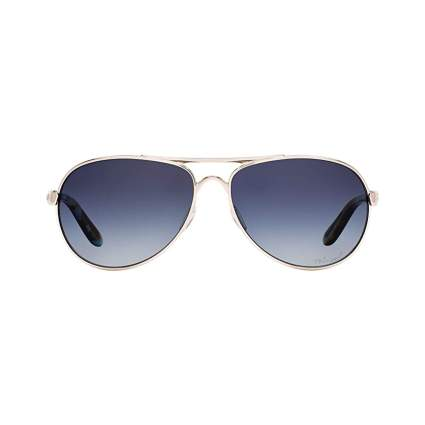 Oakley Women's Tie Breaker Aviator Sunglasses