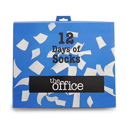 Office Socks Advent Calendar
