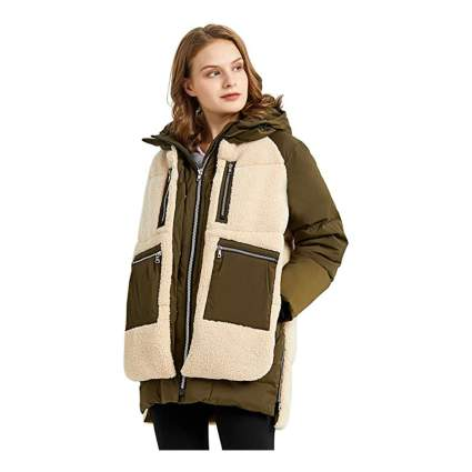 Orolay Sherpa coats