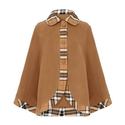 Oxfords Cashmere cape coat
