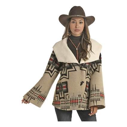 Panhandle cape coat