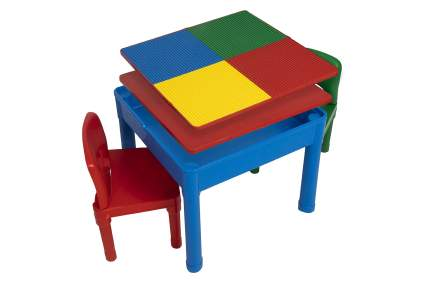 Play Platoon Kids 5 in 1 Activity Table Set w/Chairs
