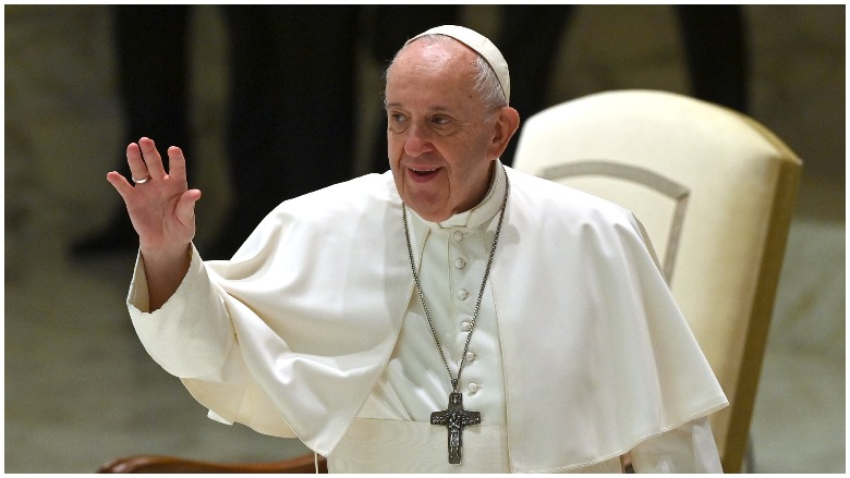 Pope Francis on civil unions