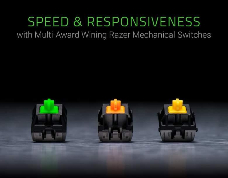 Razer BlackWidow Tournament Edition Chroma V2 Mechanical Switches
