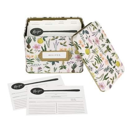 Rifle Paper Co Recipe Box