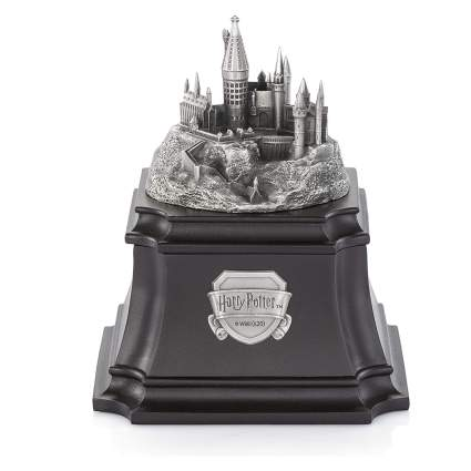 Royal Selangor Hand Finished Harry Potter Collection Pewter Hogwarts Music Box