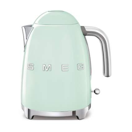 pastel green SMEG kettle
