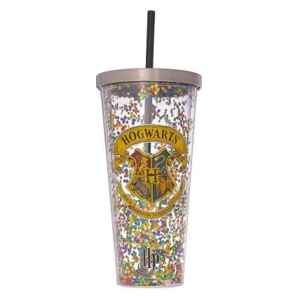 Spoontiques Hogwarts Glitter Cup