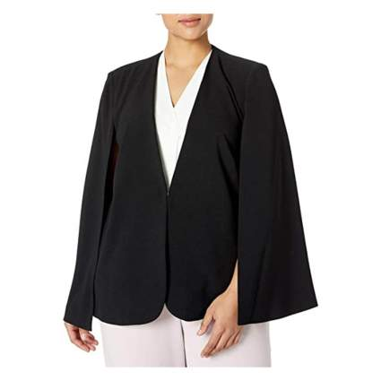 Tahari ASL cape jacket
