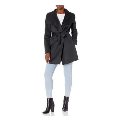 Tahari wrap coat