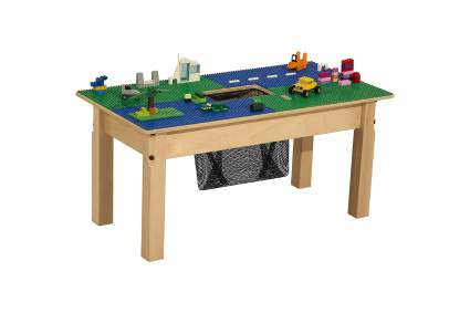 Time-2-Play Lego Compatible Table with Storage