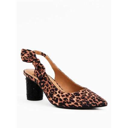 Torrid x Betsey Johnson - Leopard Block Heels