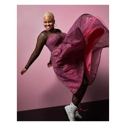 Torrid x Betsey Johnson Pink Dress