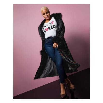 Torrid x Betsey Johnson coat