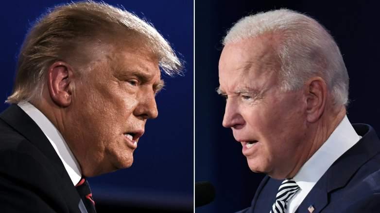 Trump vs. Biden results