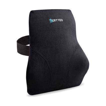 Vertteo Premium High Back Memory Foam Full Lumbar Support Cushion