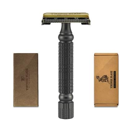Vikings Blade 'The Chieftain' Double Edge Vintage Style Razor