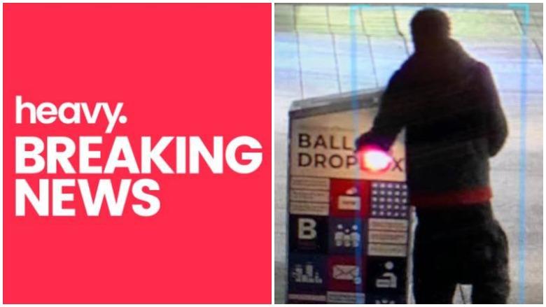 boston man sets drop box on fire