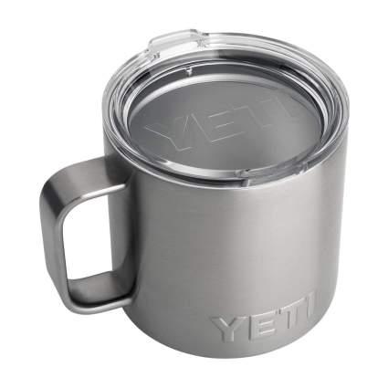 Stainless steel YETI mug