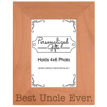 Best Uncle Ever Photo Frame
