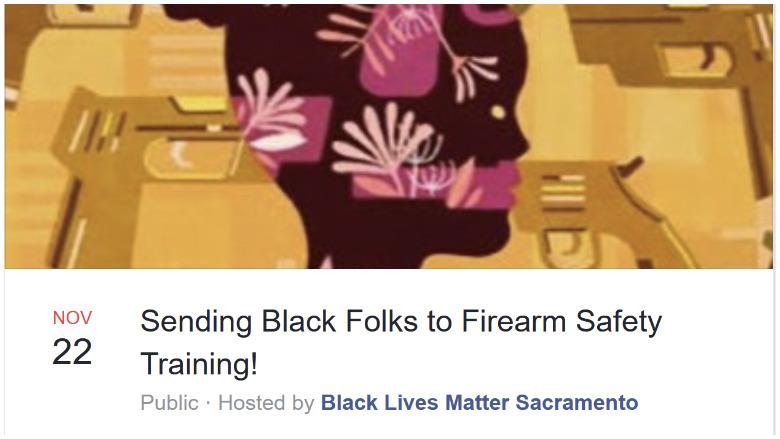 black lives matter gun training