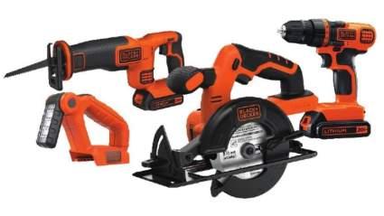 Black+Decker 20V MAX Cordless Drill 4-Tool Combo Kit