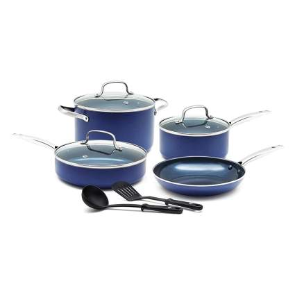 blue diamond cookware