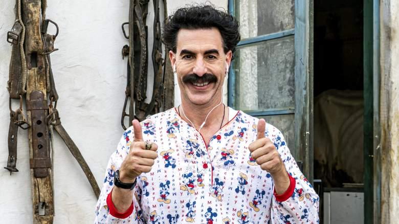 Sacha Baron Cohen stars in the second Borat film