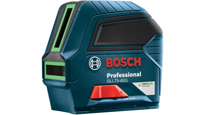 Bosch 75' Green-Beam Self-Leveling Cross-Line Laser