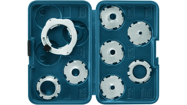 Bosch RA1128 8-Piece Router Template Guide Set