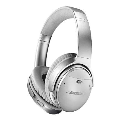 Bose QuietComfort 35 II Wireless Bluetooth Headphones - Silver