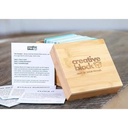Creative Block box of cards