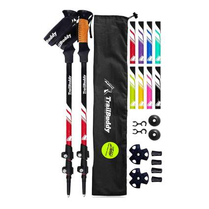 collapsible trekking poles